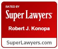 Robert J. Konopa, Super Lawyer for 10+ years